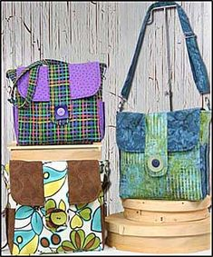 Junior Classic Bag Pattern by WhistlePig Creek Productions