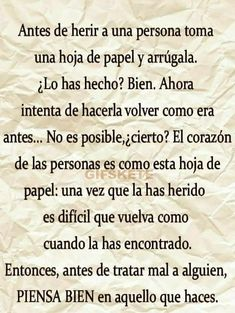 Real Life Quotes, True Quotes, Best Quotes, Motivational Quotes, Spanish Inspirational Quotes, Spanish Quotes, Amor Quotes, Good Night Gif, Feelings Words