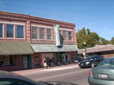 tahlequah oklahoma - downtown favorite spot right next to my gramps