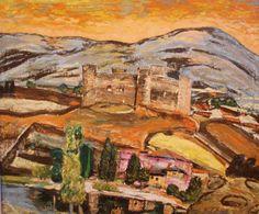 BENJAMÍN PALENCIA. Castillo de Barco de Ävila 1953 Museo de Albacete