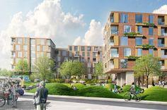 Mattapan Housing | Architect Magazine | MASS Design Group, Boston, MA, Multifamily, Mixed-Use, New Construction, Portfolio: MASS Design Group, Mixed-Use Development, Massachusetts, Boston-Cambridge-Quincy, MA-NH, Mass Design Group