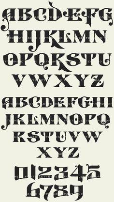 LHF Castlerock Glyph Set