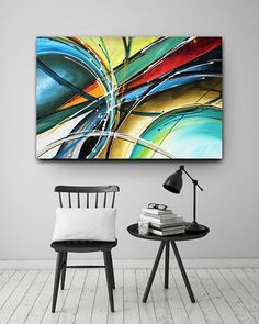 Abstract painting print, Heather Day paintings. https://www.etsy.com/listing/615665171/abstract-painting-print-abstract