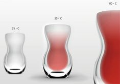Never Burn Your Tongue Again! It always happens when you least expect it – you take a drink of your morning coffee and before you know it, it's too hot… and too late. The Drinking Timing glass by Hsu Sean is a thoughtful design that uses thermo-chromic material to provide a visual indication of the temperature. Too hot and it will glow bright red, too cold and it will be clear. Remember your shade and you'll have the perfect temperature each time!