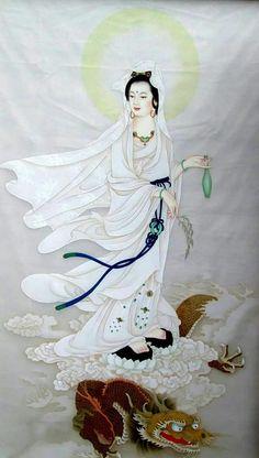 La Compassion, World Mythology, Chinese Buddhism, Tibetan Art, Buddha Art, Guanyin, Japan Art, Chinese Art, Geisha