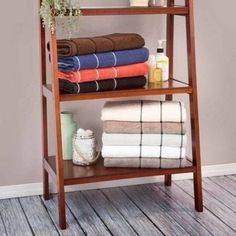 Somerset Home Quick Dry 100 Percent Cotton Zero Twist 6-Piece Towel Set, Red