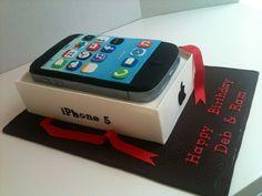 Resultado de imagen para iphone birthday cake