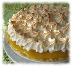Lemon and merenque, wonderful! Lemon Meringue Pie, Creative Food, Apple Pie, Baking Recipes, Deserts, Tasty, Favorite Recipes, Cookies, Sweet