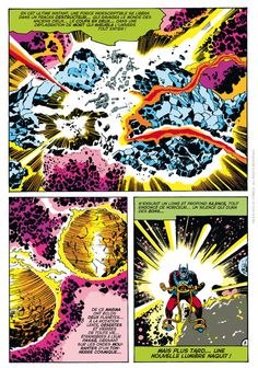 Jack Kirby new gods