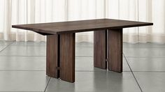 Monarch Dining Tables | Crate and Barrel