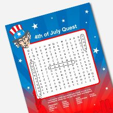 july 4th word games