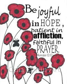 ~Romans 12:12