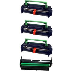 N 4PK Compatible FO47ND x3 FO47DR Toner and Drum Cartridge For Sharp FO4650 FO4700 FO4970 FO5550 FO5700
