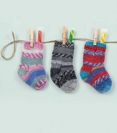 Knitted Mini Stockings (Garland & Gift Card Holder) : Knitting Accessories :  Shop   Joann.com