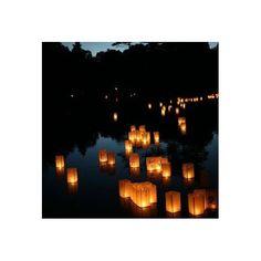 Lanternes flottantes - 2 pièces