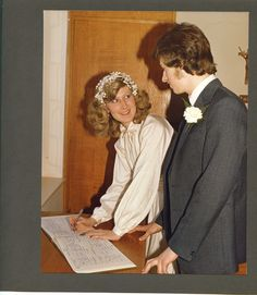 signed on the dotted line.... so did he!