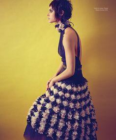 Alana Bunte for Harper's Bazaar Mexico by Xevi Muntane