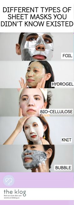 "Cotton, hydrogel, and bio-cellulose are just some of the different types of sheet masks available today in the market—and the list goes on… Meet the eight ""fabrics"" used in sheet masks and get ready to choose the one that best suits your skin's needs."
