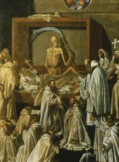 Venanzio L'Ermita, Death of St. Romuald, 17th century