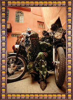 Credit: Hassan Hajjaj/Taymour Grahne Gallery, NY Gang Of Marrakesh