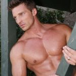 Yummy Steve Burton (AKA Jason Morgan)  General Hospital...I think this is one mobster I could date!