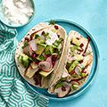 Spiced Chicken Tacos with Avocado and Pomegranate Salsa Recipe - Woman's Day