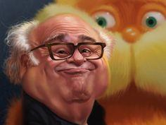 Danny DeVito caricature