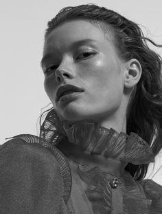 Photography: Andreas Ohlund & Maria Therese Styled by: Lisa Lindqwister Hair: Lasse Pedersen Makeup: Ignacio Alonso Set Design: Niklas Hansen Model: Julia Hafstrom