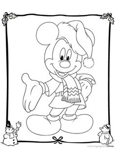 Best Free Disney Christmas Coloring Pages For Kids / All About Free Coloring Pages for Kids Disney Coloring Pages, Coloring Book Pages, Printable Coloring Pages, Free Coloring, Coloring Pages For Kids, Kids Coloring, Natal Do Mickey Mouse, Mickey Mouse Christmas, Disney Christmas