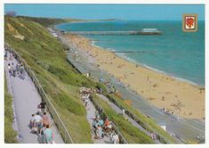 Postcards - England # 648 - Boscombe Pier, Bournemouth