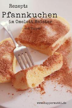 Rezept: schneller Pfannkuchen aus dem Omelett Meister von Tupper. Dauer 3 Minuten!