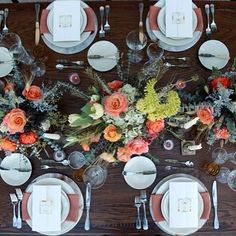 Inspiration for our Arizona brides to be.  Another one of our published shoots designed by yours truly, flowers by @gardengateflowers photo by @marriottphoto #arizona #reception #tabledesign #desert #wedding #bridal #southwestern #weddingplanner #nozzastudio