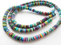 Simple BEADS - chips from polymer clay - YouTube
