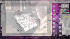 Animator Eric Goldberg on Neo-1940's style character development Eric Goldberg, animator on many of Disney Animation Studios' top-rated films, demonstrates his 1940's style character illustration techniques on the Wacom Cintiq creative pen display. Filmed at the Creative Talent Network's location in Burbank, CA, Mr. Goldberg provides some wonderful insight on the benefits of drawing digitally and shares some of his theories on character development.