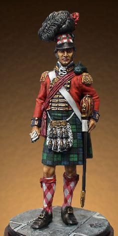 "Scottish Highlander Officer, 42nd ""Black Watch"""