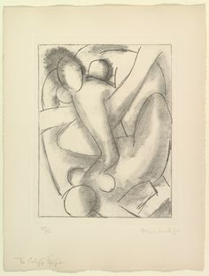 'The Calypso Episode' (one of six etchings illustrating James Joyce's Ulysses) 1935, Henri Matisse
