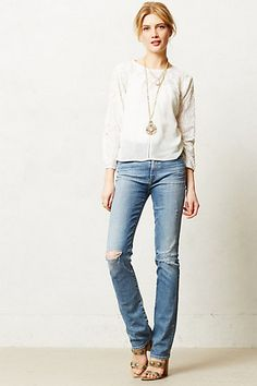 Lila lace top Kaleidoscope #kasnewyork #fashion #wearefashion #anthropologie