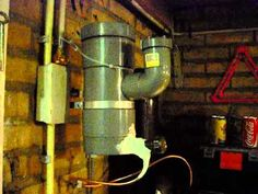 Rocket stove heater - drip feeding waste oil. - YouTube