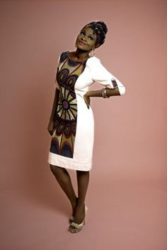 African print in style.  Hephzibah AW Collection Lookbook - BellaNaija - August2013004