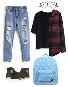 """""""#four"""" by hayescomet on Polyvore featuring Chicwish, PF Flyers, Forever 21 and H&M"""