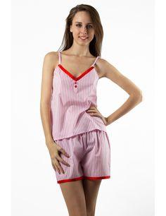 Zega Store - Pijamale Mushroom, culoarea alb cu roz - Femei, Pijamale Rompers, Dresses, Fashion, Gowns, Moda, Jumpsuits, Fashion Styles, Romper Clothing, Romper Suit