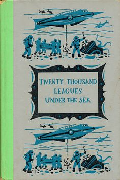 20 20 000 Leagues Under The Sea Book Covers Ideas Leagues Under The Sea Under The Sea League