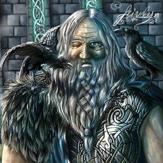 Odin by Feivelyn on deviantART