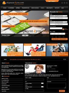Portal Comparador de servicios de mensajería internacional. Precios muy competitivos.