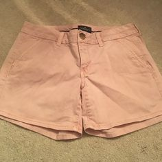 Pink shorts Excellent condition, only worn a few times American Eagle Outfitters Shorts