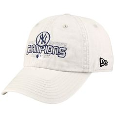 4ae68d7e839 New Era New York Yankees Stone 2009 World Series Champions Adjustable  Slouch Hat