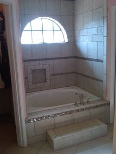images about Garden tub remodels on Pinterest