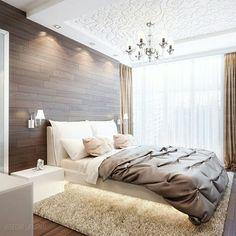 Что вам нравится/не нравится в интерьере этой спальни?