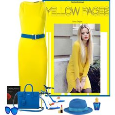 Yellow Pages Outfit Idea 2017