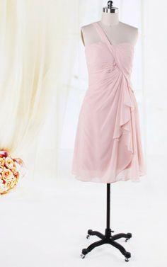 Robe de Graduation/ Robe Demoiselle d'honneur Chic en Chiffon de Lotus